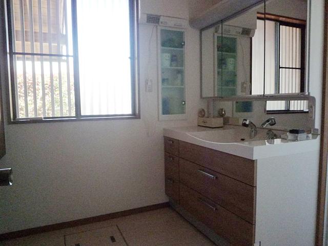 <施工事例> 奈良県M様邸 洗面台