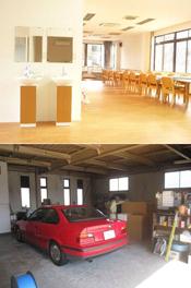 奈良県上牧町 介護施設(有)M様 増改築 施工前・施工後