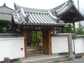 山門(寺院の正式な入口)