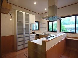 U様邸 対面式キッチン